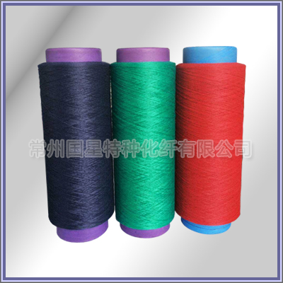 High quality fire-retardant polyester DTY yarn